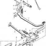 Brake Pedal, Side Stand, Footpeg