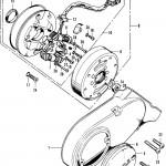 Left Crankcase, Generator