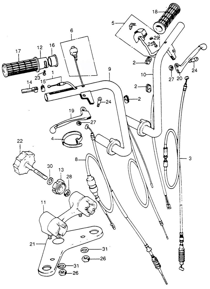Steering, Handle Bars
