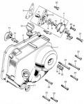 Right Crankcase Cover and Oil Pump