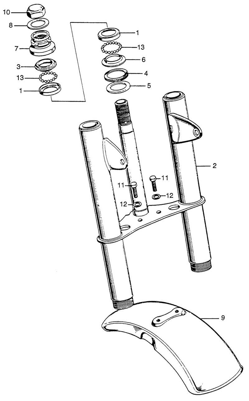 Steering Stem & Front Fender