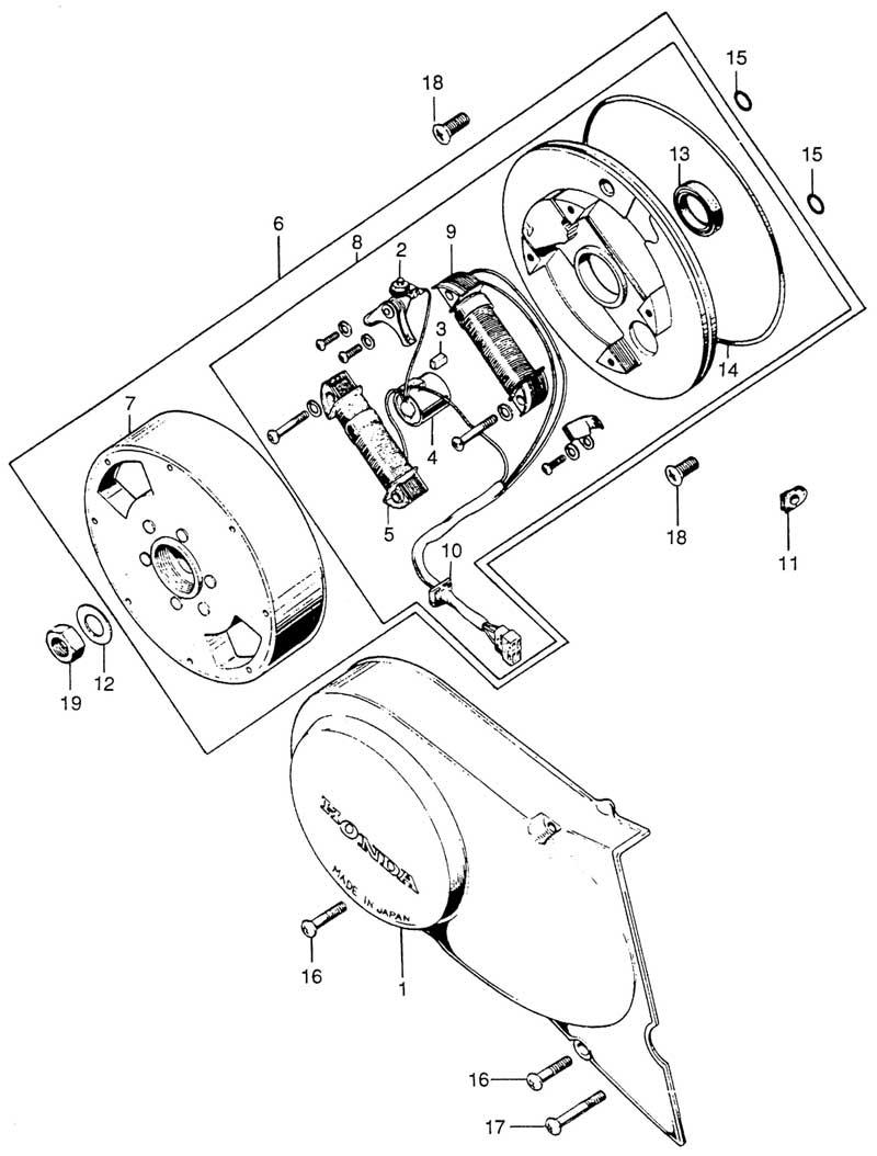 Left Crankcase & Generator