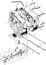Crankcase and Oil Pump