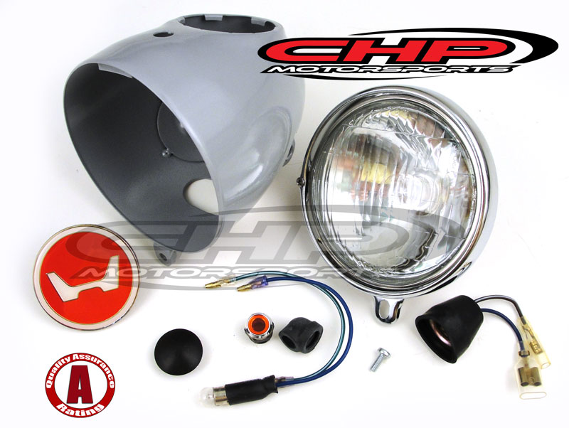 Headlight Assy Kit Honda Z50 K1 K2 Chp Motorsports