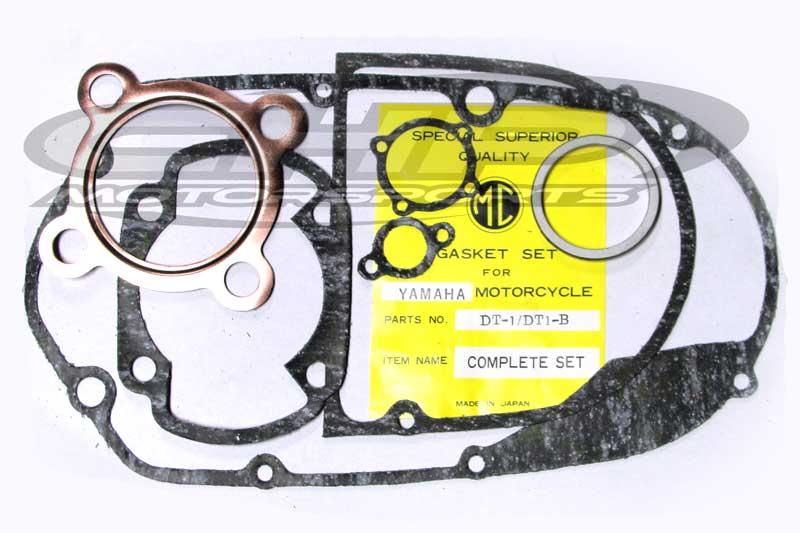 Gasket set, DT-1/DT-1B, Yamaha, VINTAGE Japanese set, with