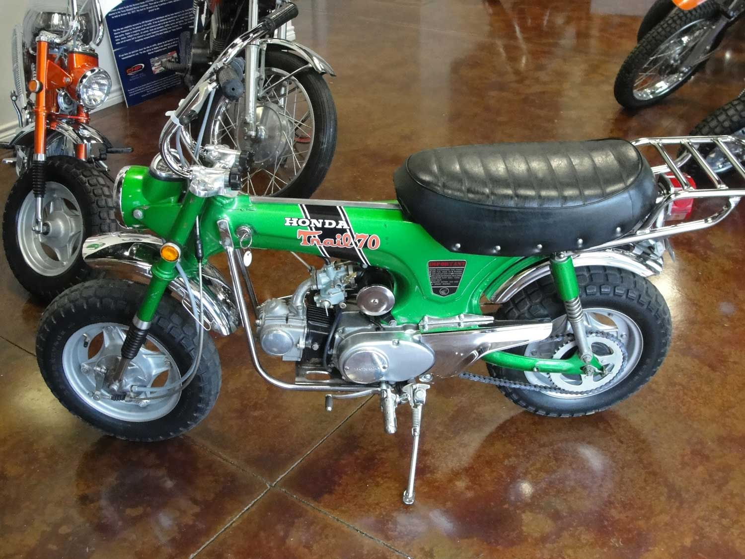 Bfs Ct70 H Ko Original Shriner Bike 1880 Miles Emerald Green With 1970 Honda Throttle Cable If You Have Any Question About This Other Of The Bikes That We Will Be Listing Please Do Not Hesitate To Reach Out Price 450000 Sold