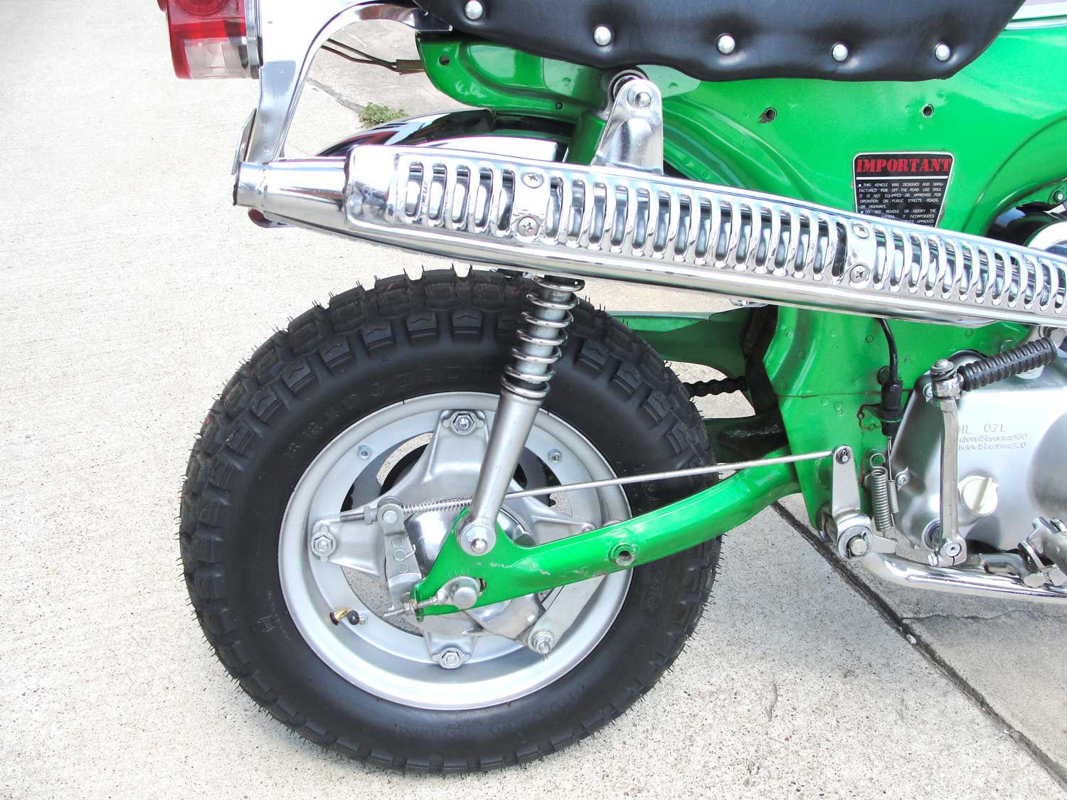 Bfs Ct70 H Ko Original Shriner Bike 899 Miles Emerald Green With 1970 Honda Spark Plug If You Have Any Question About This Other Of The Bikes That We Will Be Listing Please Do Not Hesitate To Reach Out Price 467500 Sold